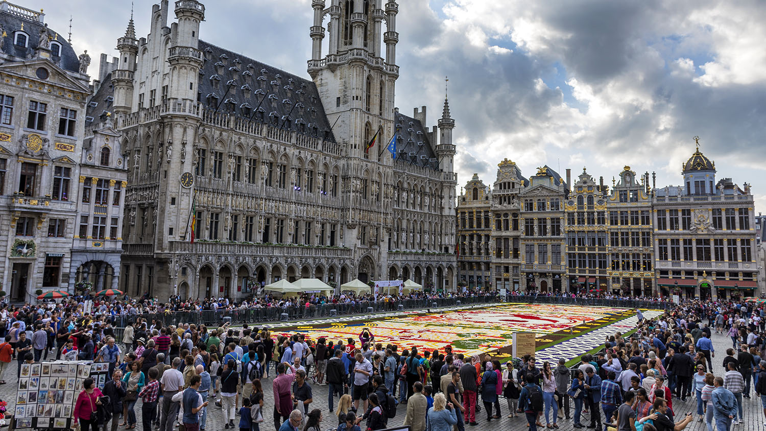 La Grand Place Brussels UNESCO World Heritage Site Review