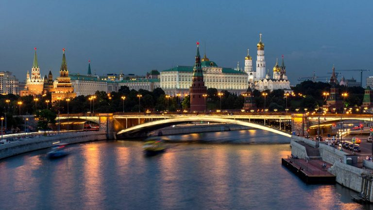 River view of Moscow