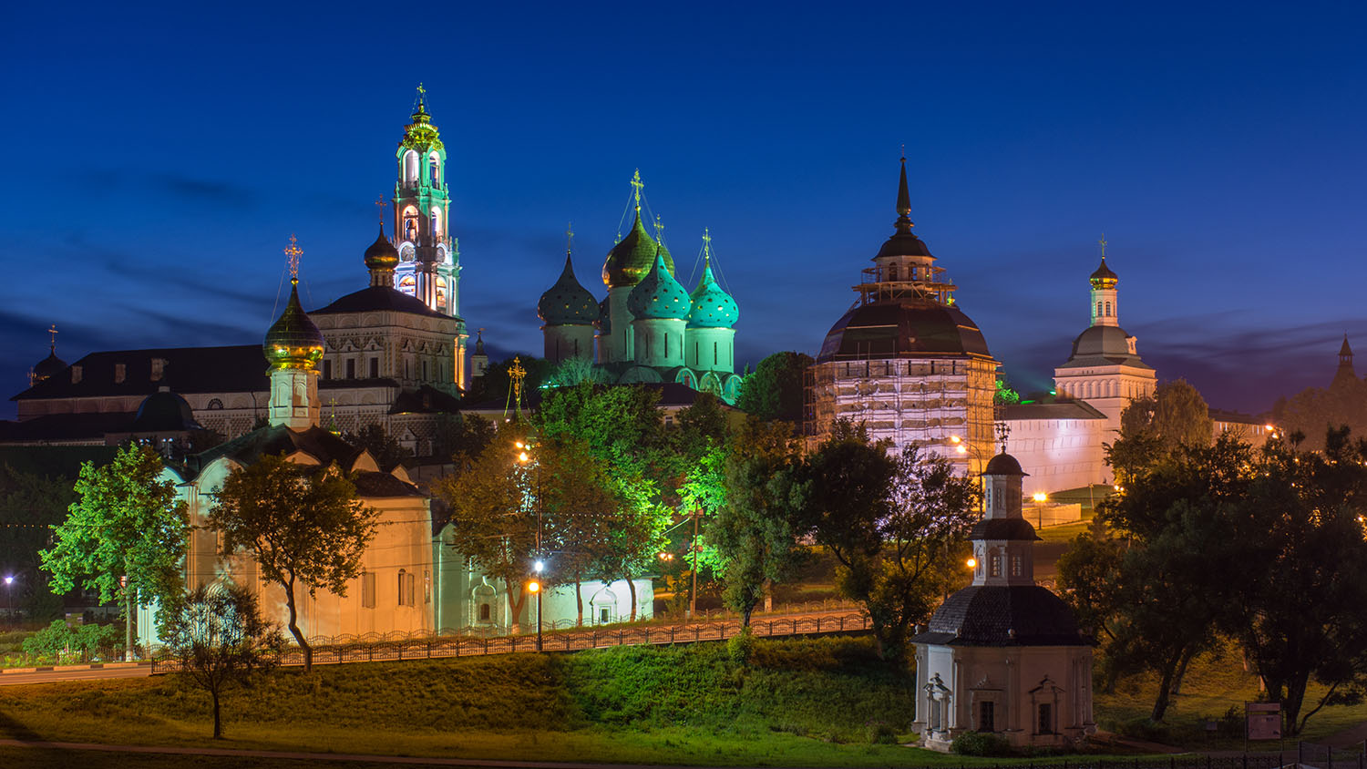 Sergiev Posad by Night